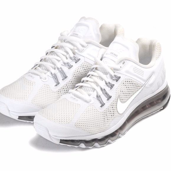 White Nike Air Max 2013 (Men's 11)